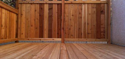 decks and fences outdoor